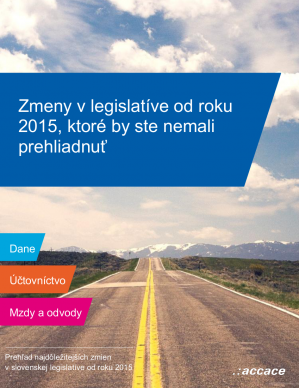 Keep up to date with news in Slovakia that matter to your business in 2015
